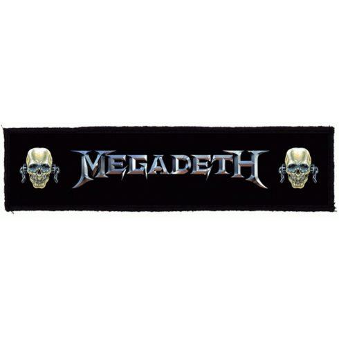 Megadeth - Logo Vic felvarró