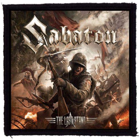 Sabaton - The Last Stand felvarró