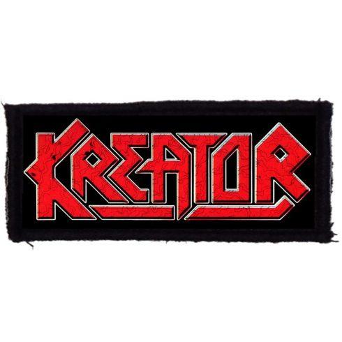 Kreator - Logo felvarró