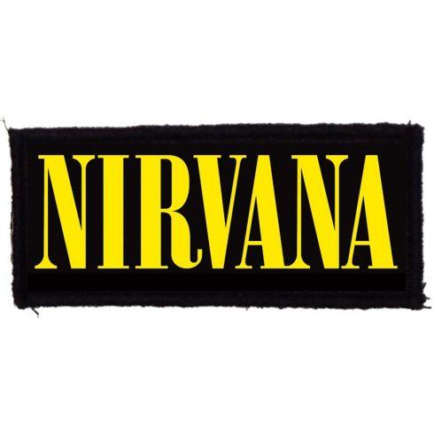 Nirvana - Logo felvarró
