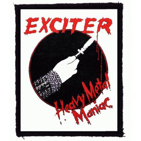 Exciter - Heavy Metal Maniac felvarró