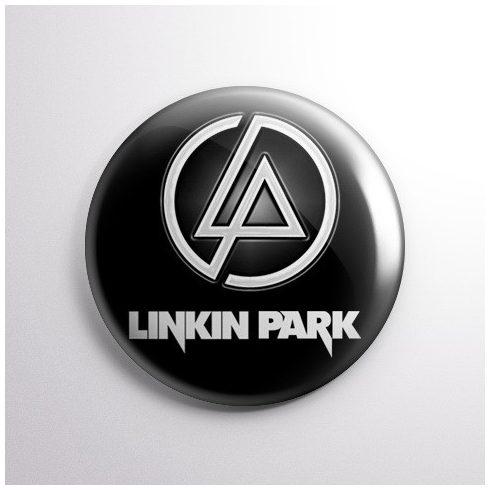 Linkin Park - Logo kitűző