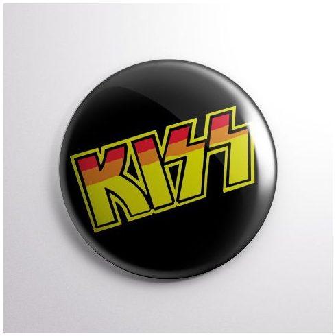 Kiss - Logo kitűző