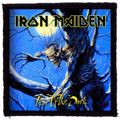 Iron Maiden - Fear Of The Dark felvarró