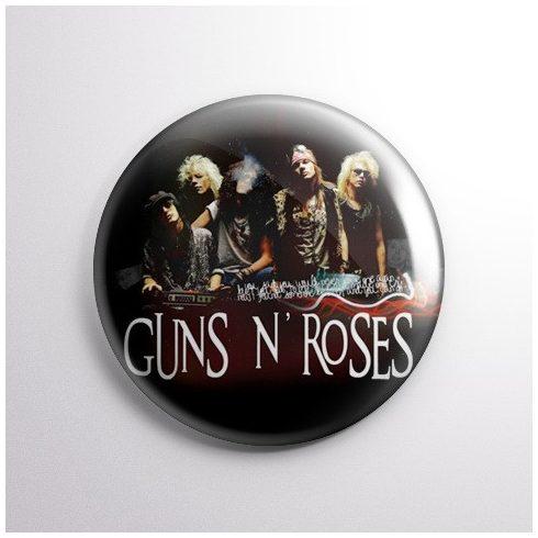 Guns N Roses - Band kitűző