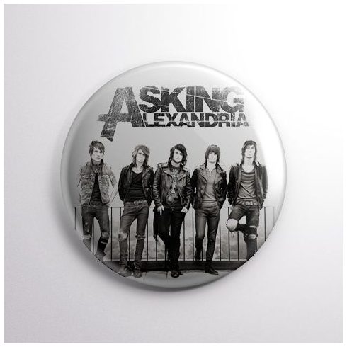 Asking Alexandria - Band kitűző
