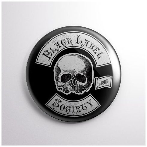 Black Label Society - Logo kitűző