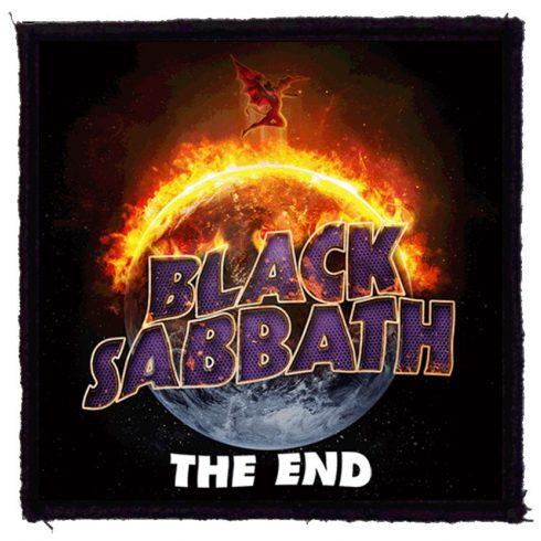 Black Sabbath - The End felvarró