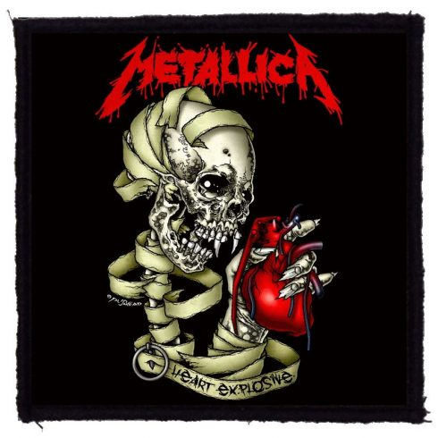 Metallica - Heart felvarró