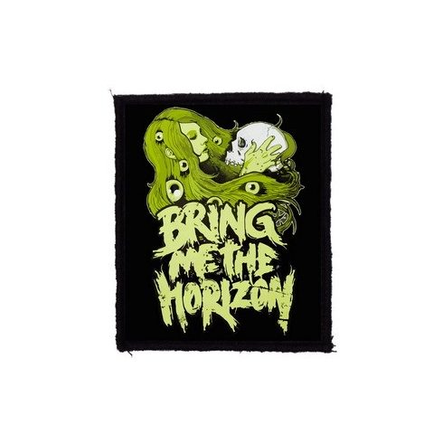 Bring Me The Horizon - Green felvarró