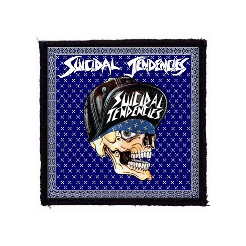 Suicidal Tendencies - Skull felvarró