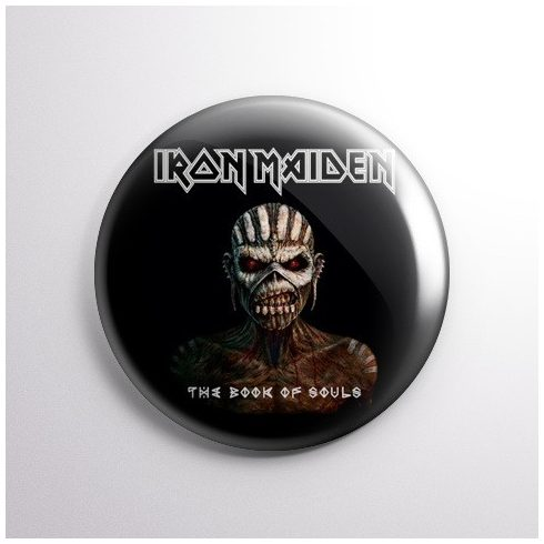 Iron Maiden - The Book of Souls kitűző