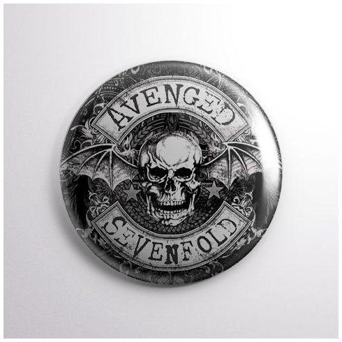 Avenged Sevenfold - Logo kitűző