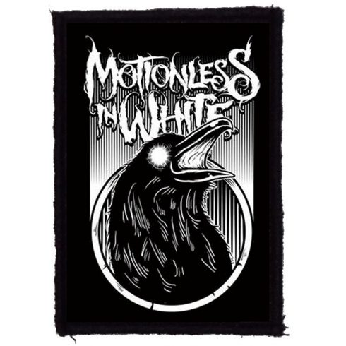 Motionless In White - Raven felvarró