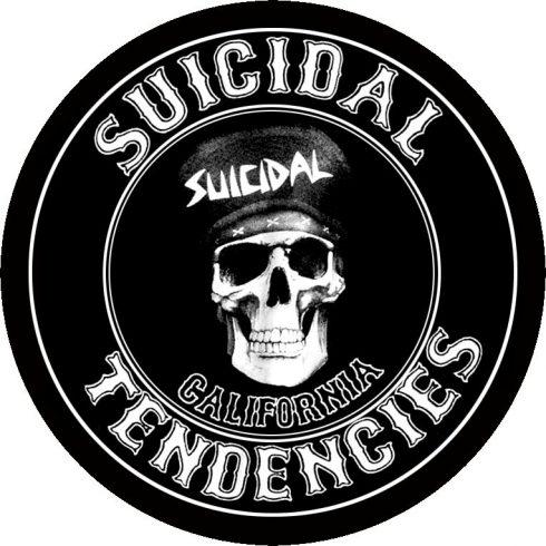 Suicidal Tendencies - California circle felvarró