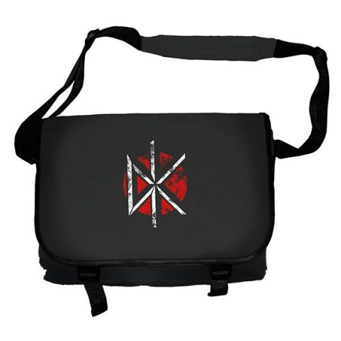 Dead Kennedys - DISTRESSED LOGO BLACK táska