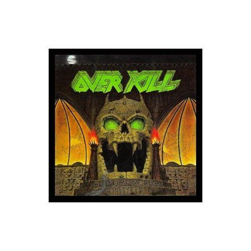 Overkill - The Years of Decay felvarró