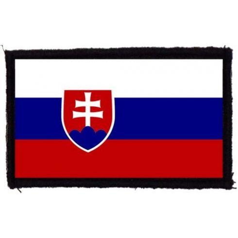 Szlovák zászló felvarró