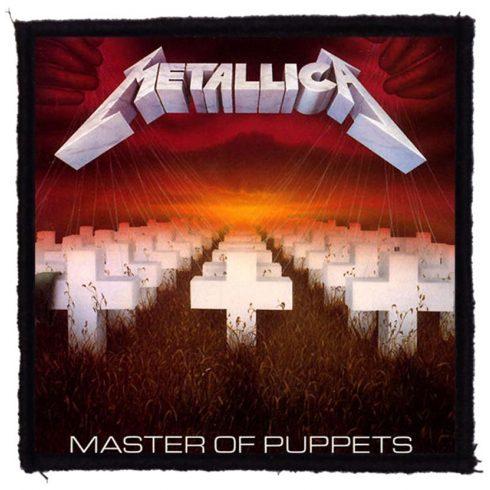 Metallica - Master Of Puppets felvarró