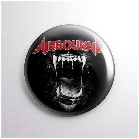 Airbourne kitűző