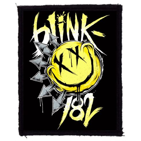 Blink 182 - Smiley logo felvarró