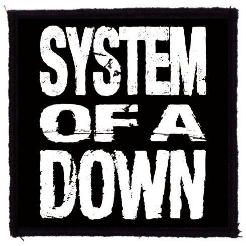 System of A Down - SOAD felvarró