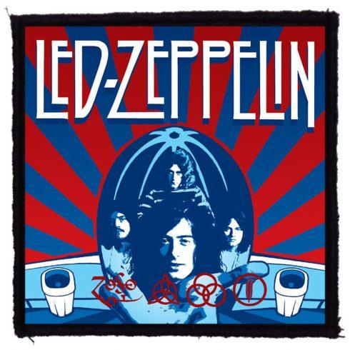 Led Zeppelin - Chicago 73 felvarró