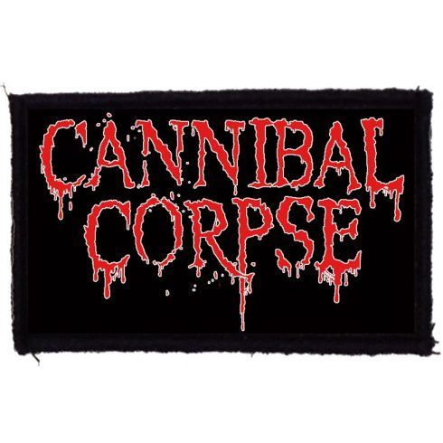 Cannibal Corpse - Logo felvarró