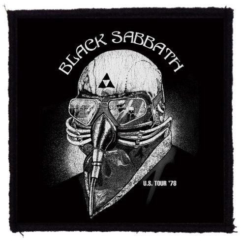 Black Sabbath - US Tour 78 felvarró