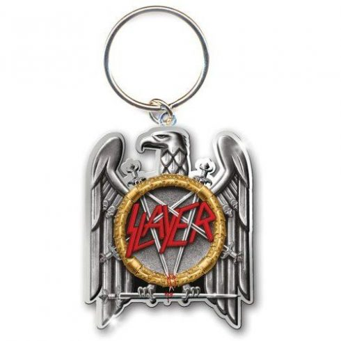 Slayer - Silver Eagle fém kulcstartó
