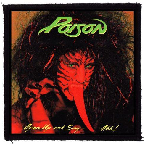 Poison - Open Up felvarró