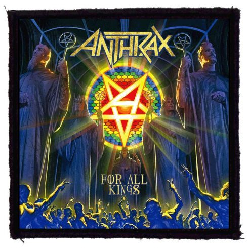 Anthrax - For All King felvarró