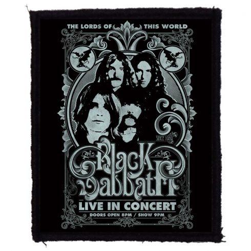 Black Sabbath - Lords felvarró