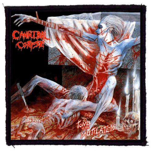 Cannibal Corpse - Tomb felvarró