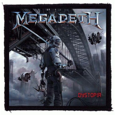 Megadeth - Dystopia felvarró