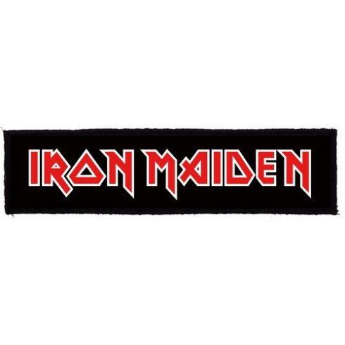 Iron Maiden - Logo Superstrip felvarró