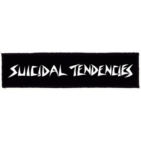 Suicidal Tendencies - Big Logo felvarró