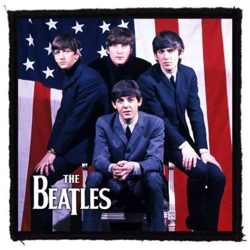 Beatles - USA Flag felvarró