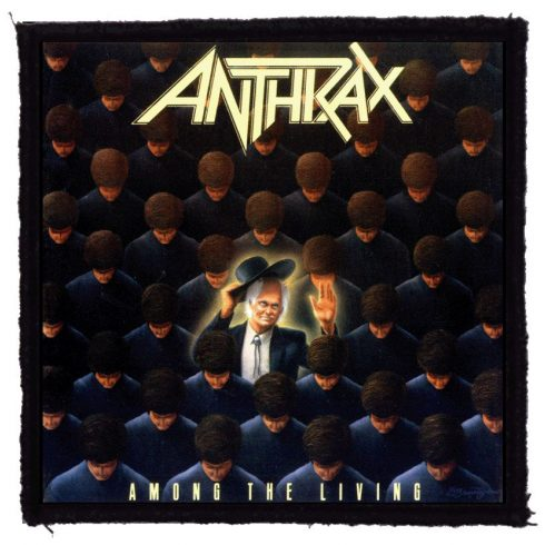 Anthrax - Among The Living felvarró