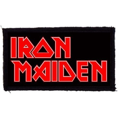 Iron Maiden - Logo felvarró