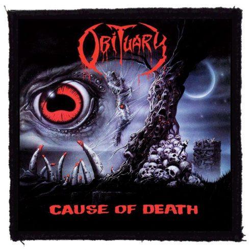 Obituary - Cause Of Death felvarró
