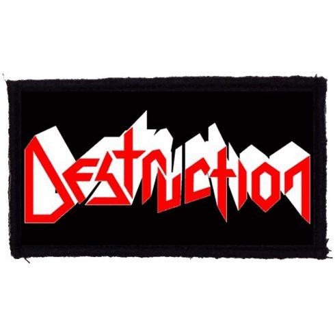 Destruction - Logo felvarró