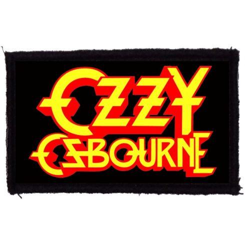 Ozzy Osbourne - Logo felvarró