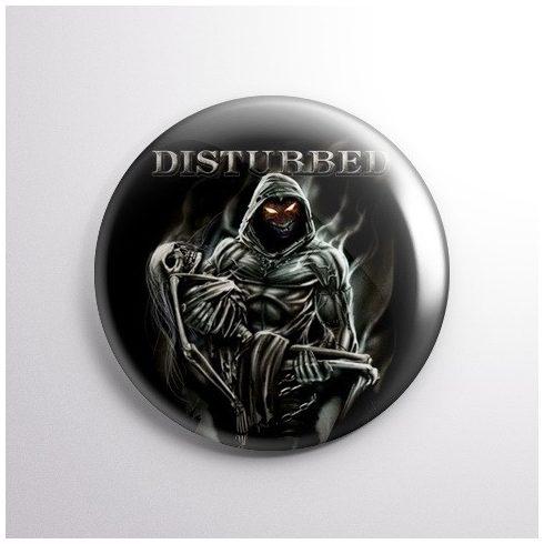 Disturbed kitűző