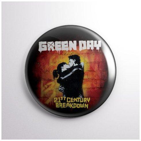 Green Day - 21st kitűző
