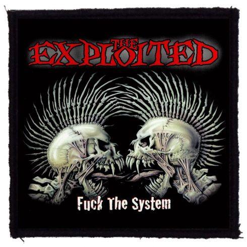 Exploited - Fuck The System felvarró