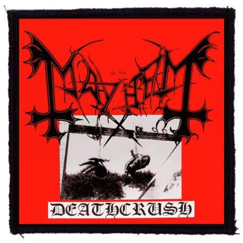 Mayhem - Deathcrush felvarró
