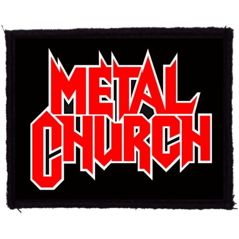 Metal Church - Logo felvarró