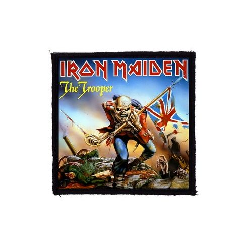 Iron Maiden - The Trooper felvarró
