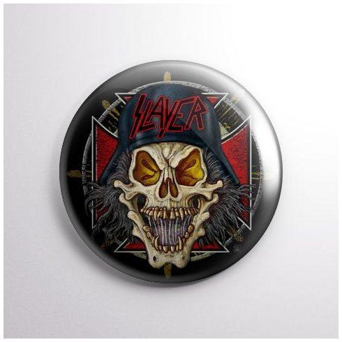 Slayer - Skull kitűző